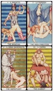 Tarocco Erotico dei Giardini di Priapo