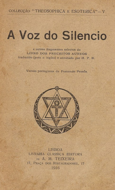 """Aws 704 Series: [PDF] """"A Voz Do Silêncio"""" — Helena Blavatsky"""